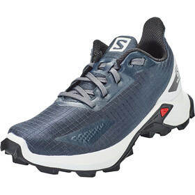 Salomon Alphacross Blast Shoes Kids india ink/white/black